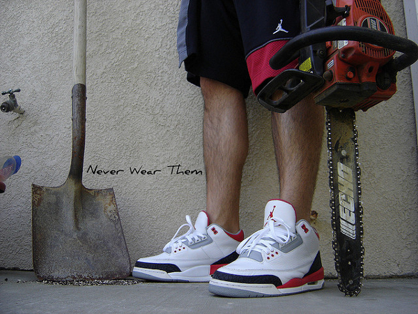 air-jordan-3-fire-red-Never Wear Them