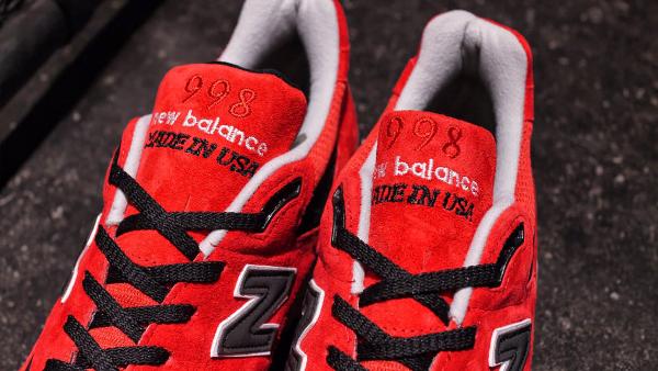New Balance 998 Laget I Usa Rødt 4ReH9lg