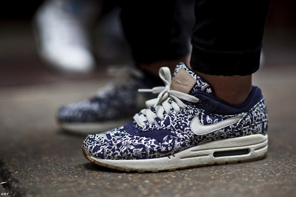 Liberty London x Nike Air Max 1 2012 (Imperial Purple)