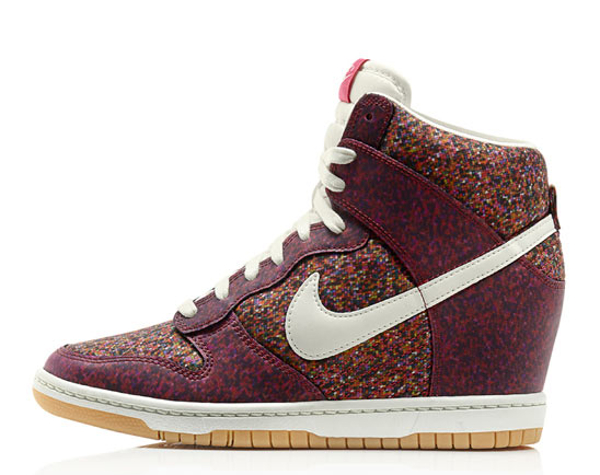 "Nike Dunk Sky Liberty Of London Virtual Light ""Pixel"" - sortie le 12/07/2013"
