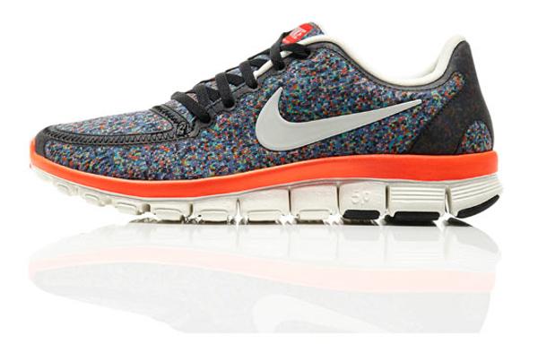 "Nike Free Run 5.0 Liberty Of London Virtual Light ""Pixel"""