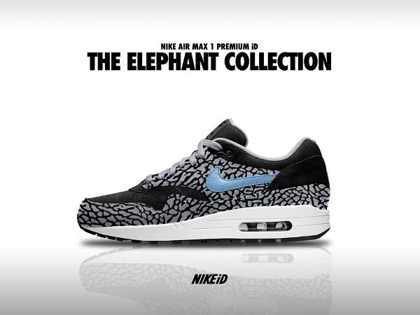 Nike Air Max 1 ID Elephant