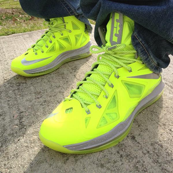 "Nike Lebron 10 Volt ""Dunkman""- Li"