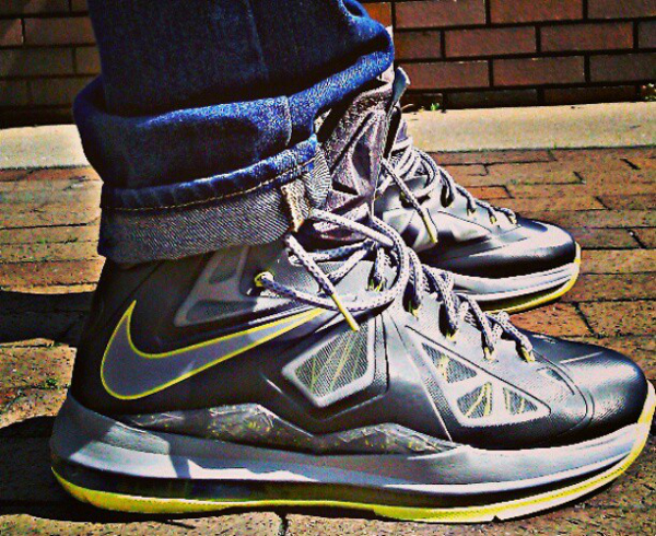 Nike Lebron 10 Yellow Diamond - Corey Foster