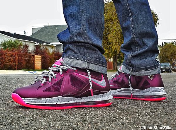 Nike Lebron 10 Hazelnut - Morgan Otani