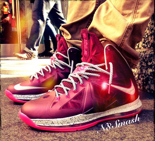 Nike Lebron 10 Crown Jewel - N8mash