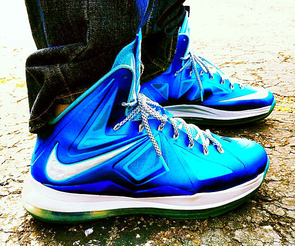 hot sale online 2fe24 1f2d7 Nike Lebron 10 Blue Diamond - Dan Chol ...