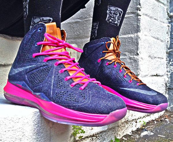 Nike Lebron 10 Denim - Sgtyoungn