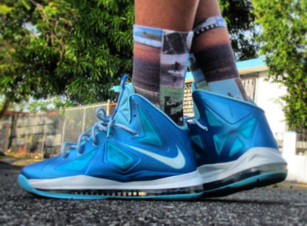 Nike Lebron 10 Blue Diamond - Gilberto Gonzalez