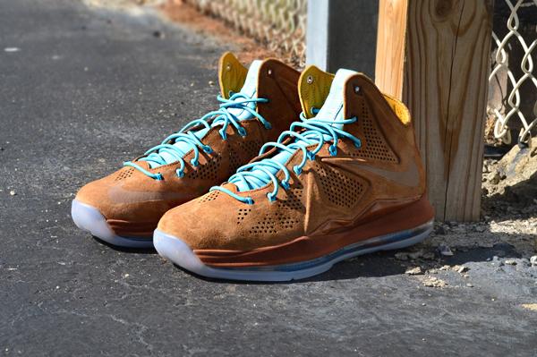 Nike Lebron 10 EXT Hazelnut