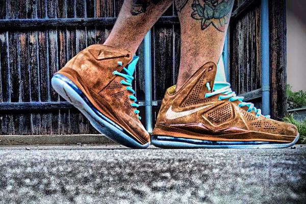 Nike Lebron 10 Hazelnut - Tattooboi88