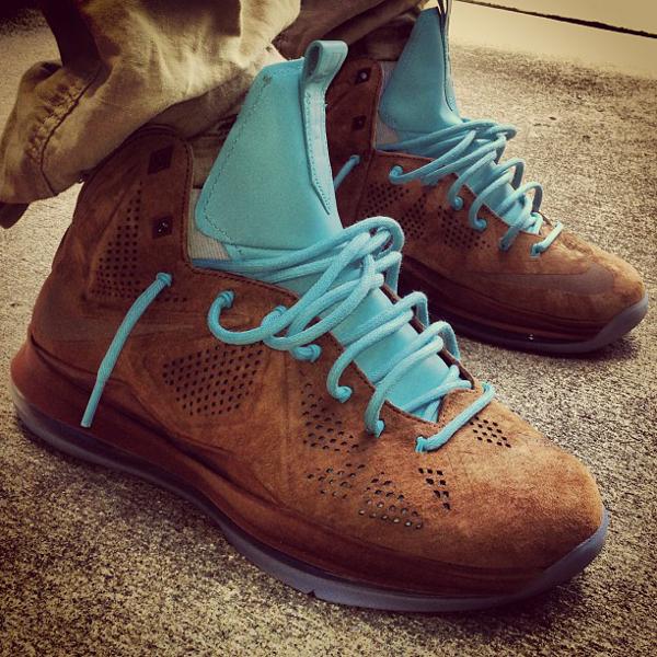 Nike Lebron 10 Hazelnut - Whynotmicah