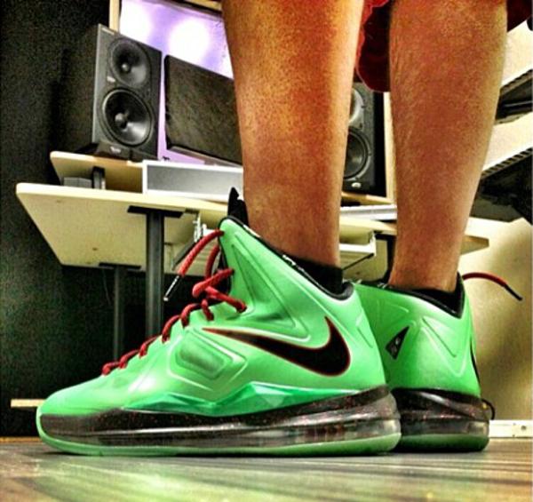 Nike Lebron 10 Jade - Fabrizio