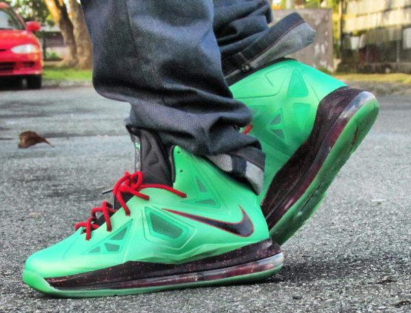 Nike Lebron 10 Jade - Wilberto Gonzalez