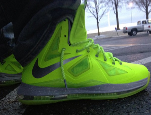 "Nike Lebron 10 Volt ""Dunkman""- Jae Wood"
