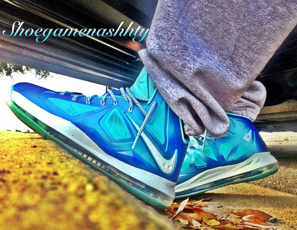 Nike Lebron 10 Blue Diamond - Prince Akeem