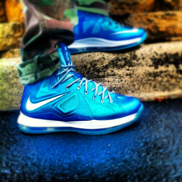 Nike Lebron 10 Blue Diamond - Thatsmycray