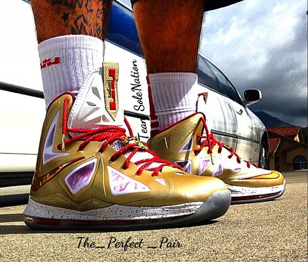 Nike Lebron 10 MVP Championship - The-perfect-pair