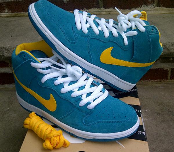 Nike Dunk High Pro SB Tropical Teal