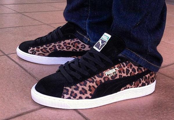 puma suede leopard - 52% remise - www