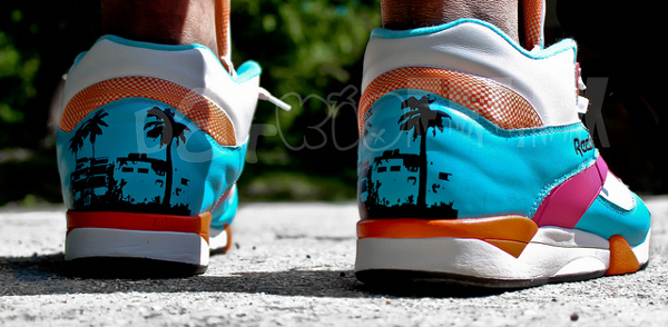 "Reebok Pump Court Victory ""Miami Vice"" - D Felix Photo"
