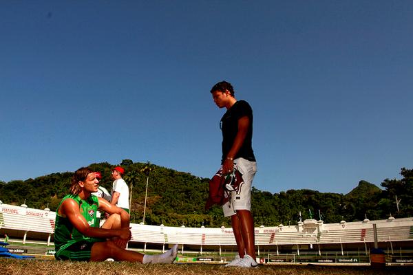 Thiago Silva en Nike