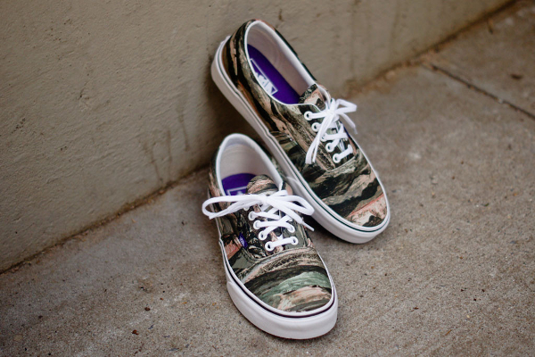 "Vans Era x Liberty Of london ""Mountain Green"" (Camo)"