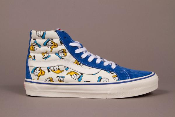 Walt Disney x Vans Sk8 Hi LX Donald Duck