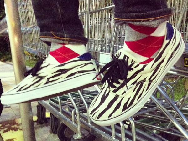 Vans Era x Supreme Zebra