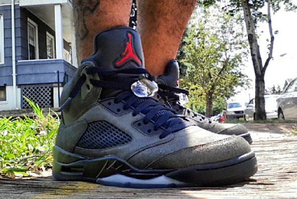 Air Jordan 5 Fear par Cheenz78 (21.08.2013)