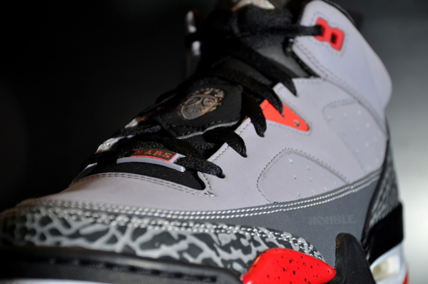 Air Jordan Son Of Mars Low Grey Cement