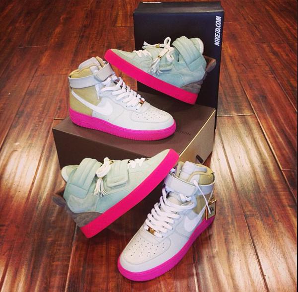 """Nike Air Force 1 High ID x Louis Vuitton """"Jasper"""""""