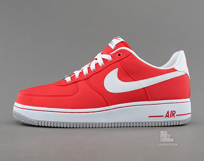 nike air force one rouge basse
