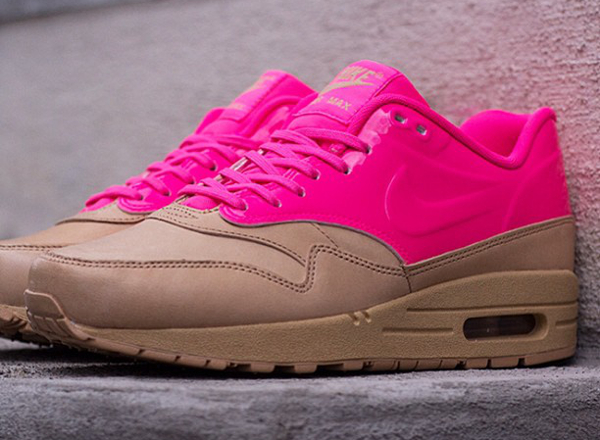 Nike Air Max 1 Vachetta Tan/Pink
