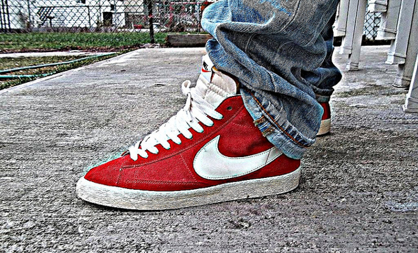 nike blazer high homme