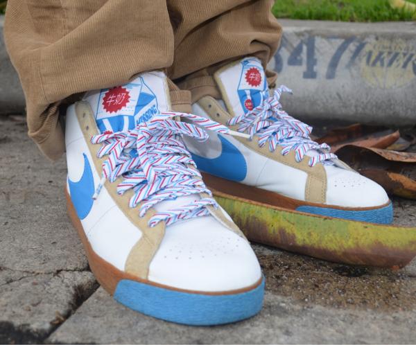 Nike Blazer Mid SB Milkcrate - Chiva1908