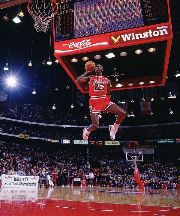 Michael Jordan, l'ange noir…