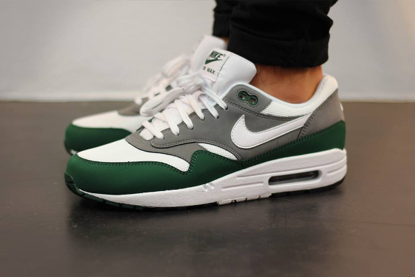 Nike Air Max 1 Essential (White/Mercury Grey-Gorge Green)