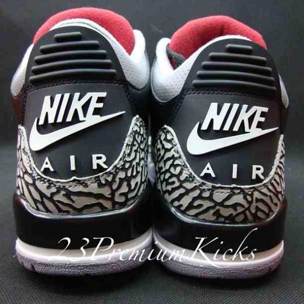 Air Jordan 3 Black Cement Retro 88' QS