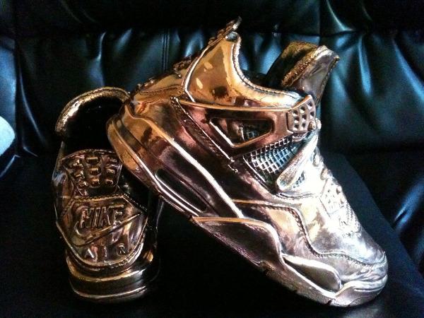 Air Jordan 4 en Bronze