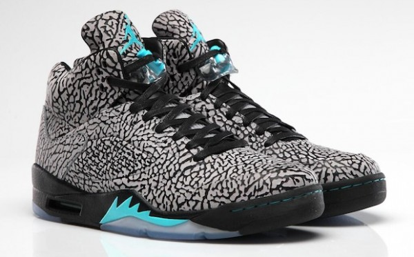 Air Jordan 5 3Lab5 (imprimé elephant)