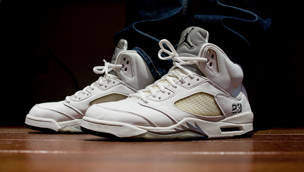 air-jordan-5-retro-white-metallic-silver-Rooog Knows