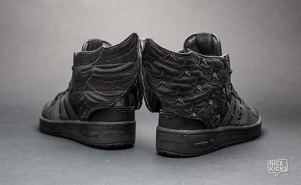 Jeremy Scott Adidas Wings Black 2.0