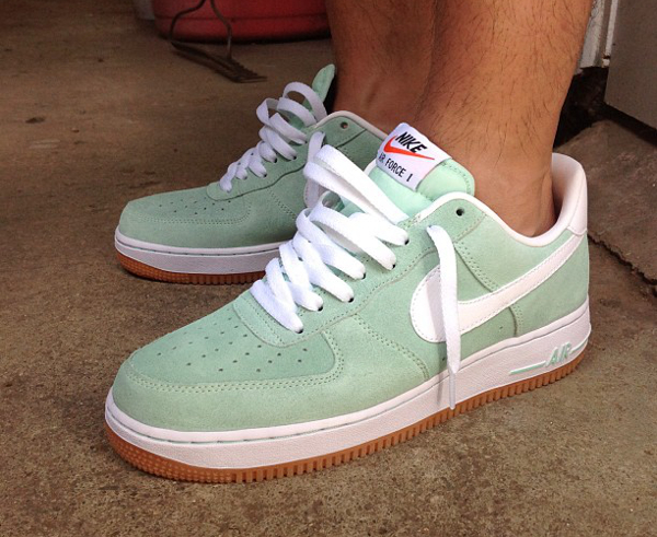 pretty nice aebac 6c0a6 nike-air-force-1-low-minty-grey-regrocks