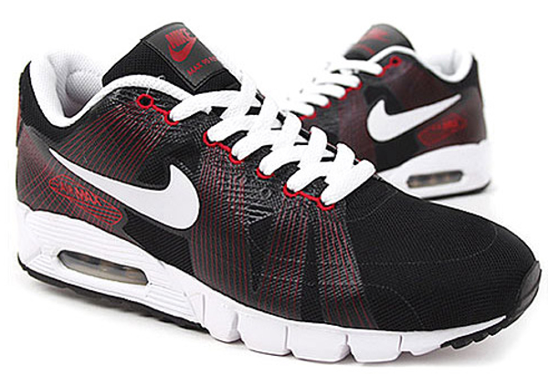 Nike Air Max 90 Current Flywire Black/Red