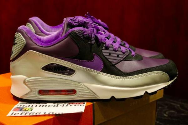 Nike Air Max 90 Varsity Purple/Silver Metallic (2006)