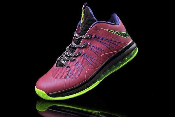 "Nike Lebron 10 Low ""Raspberry"""