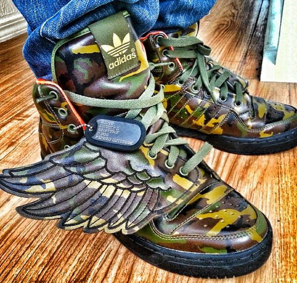 Adidas JS Wings Camo - Lts-eo