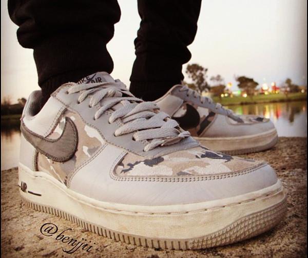 Nike Air Force 1 Low Camo - Benjjii