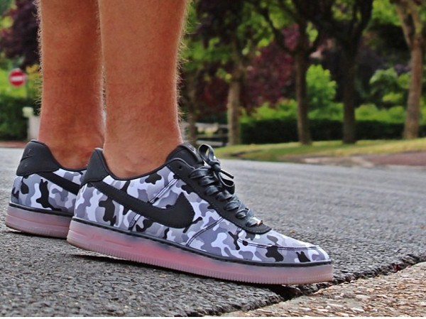 Nike Air Force 1 Low Downtown Camo - Elogary95